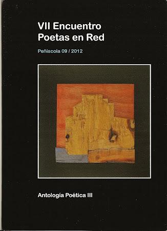 Portada del libro: Antología III. VII Encuentro de Poetas en la Red. Peñíscola.