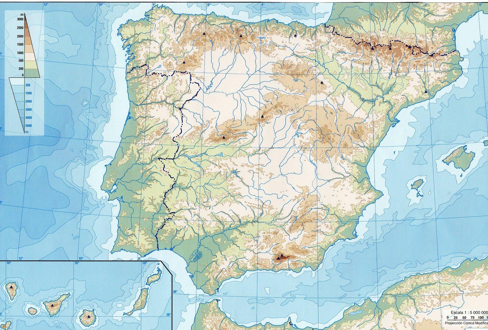 Xogos do Relevo de España
