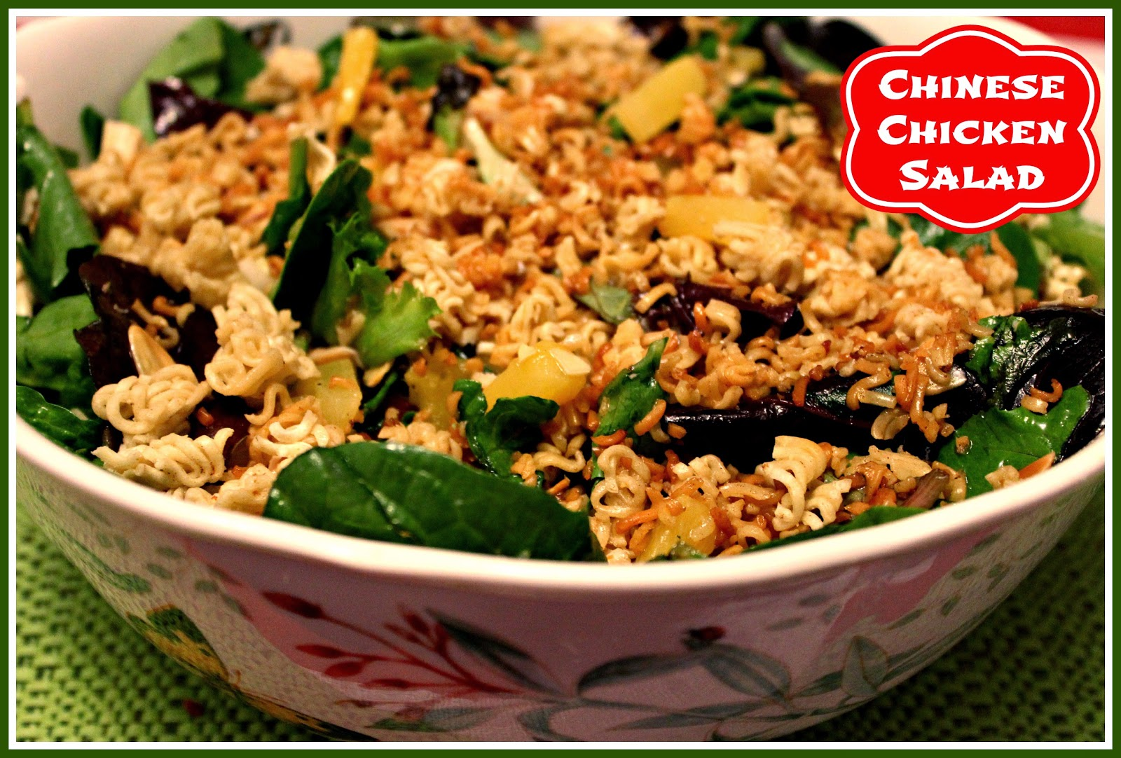 Sweet Tea and Cornbread: Chinese Chicken Salad!