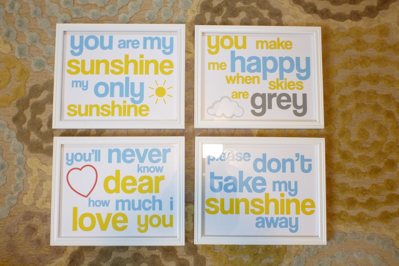 photo about You Are My Sunshine Printable identified as Do-it-yourself Mayhem: Yourself Are my Solar--Absolutely free Printable