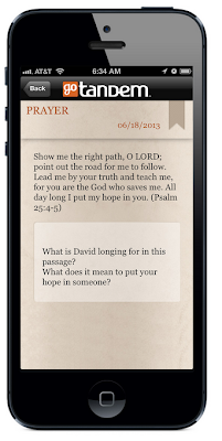 GoTandem Bible-Reading App