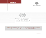 Decreto por el que se aprueba el PSE 2013-2018