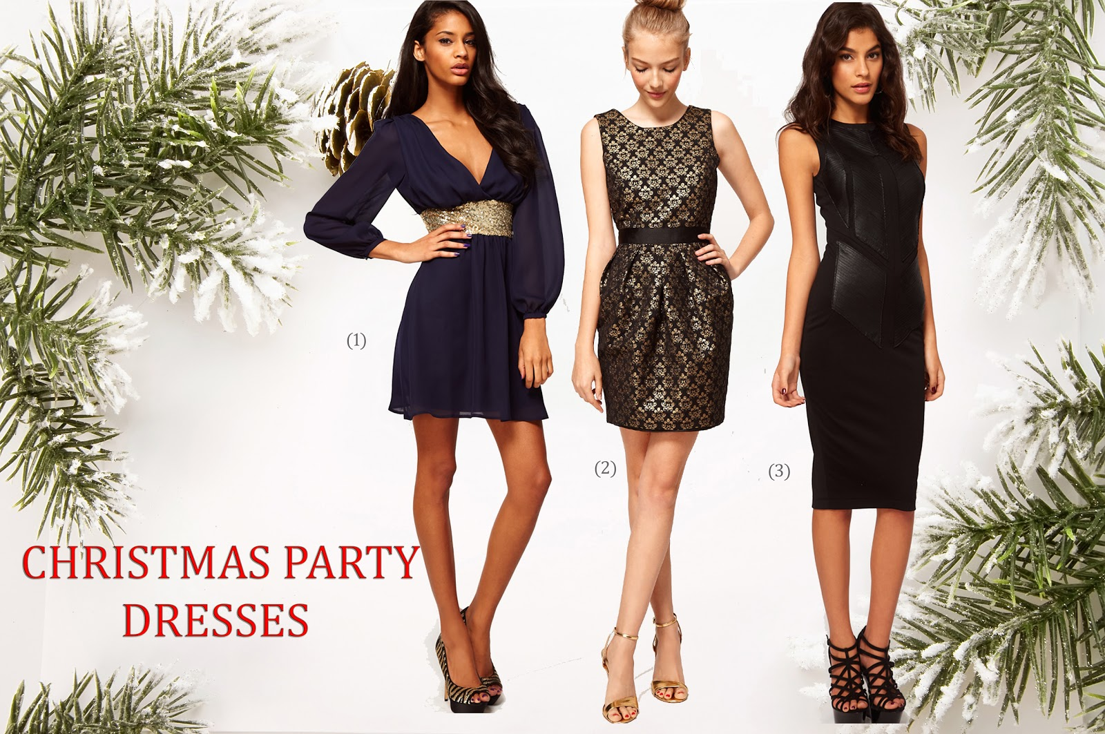 WHAT TO WEAR TO A WORK CHRISTMAS PARTY - A N E M I S T Y L E