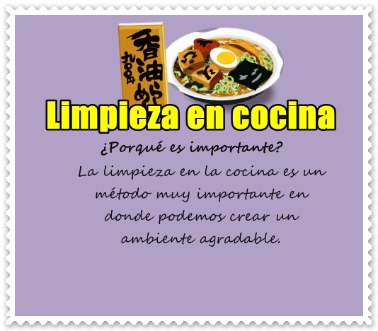 Productos para limpieza en la cocina mcp food for Manual de limpieza y desinfeccion para una cocina