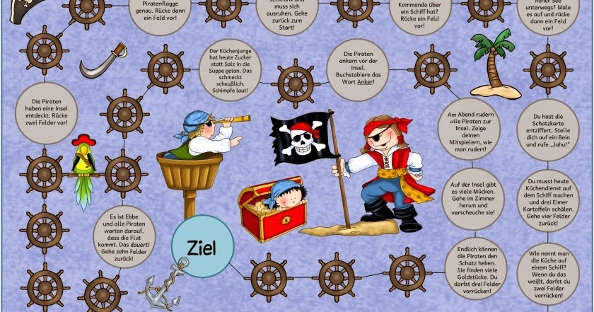 spiele zum thema piraten