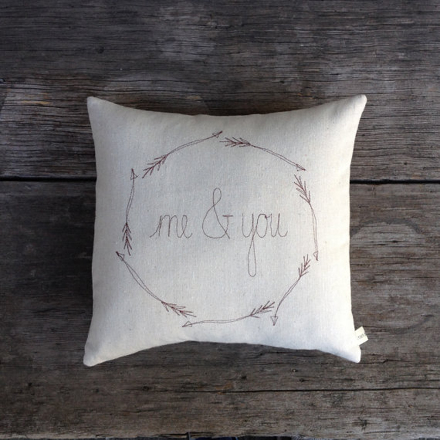 Custom Made Wedding Gift Me&You Pillow Cover