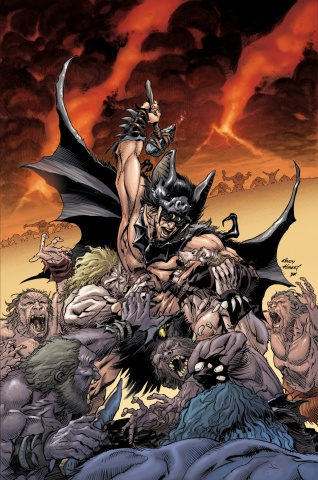 Cave Man Batman