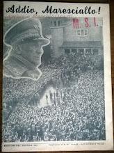 """EDIZIONI DEL """"SECOLO D' ITALIA"""" 13 Gennaio 1955"""