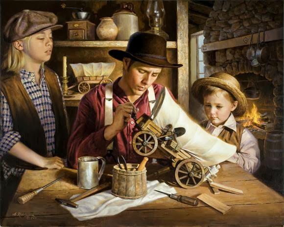 Lukisan Realisme Karya Alfredo Rodrigus