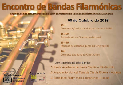 Tuna de Óis da Ribeira no Encontro de Bandas Filarmónicas da Lousã