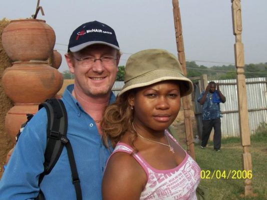 Photos Of Goldie And Her American Husband: Andrew Harvey Goldie+harvey+and+hubby+lindaikejiblog