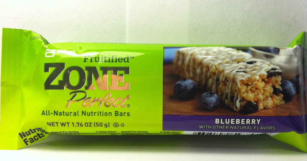 Crazy food dude review zone perfect fruitified blueberry bar for Food bar t zone