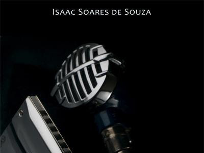 Convite para o lançamento de Cantando Um Blues em São Carlos