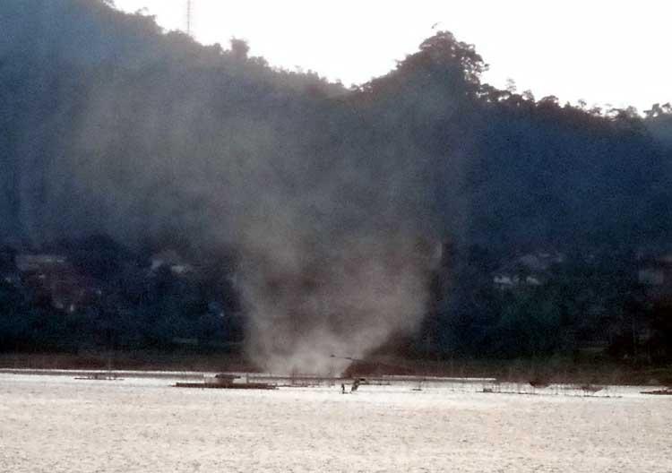 Sapuan angin Dahsyat Menegangkan di Wadukdarma
