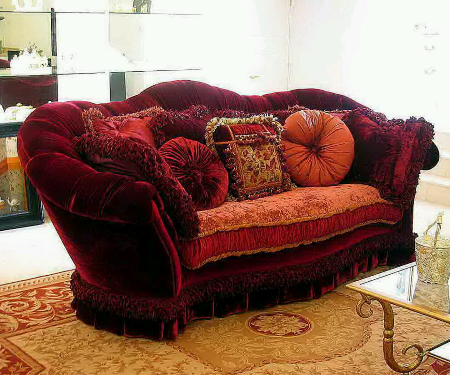 Modern sofa designs with beautiful cushion styles. ~ Furniture Gallery