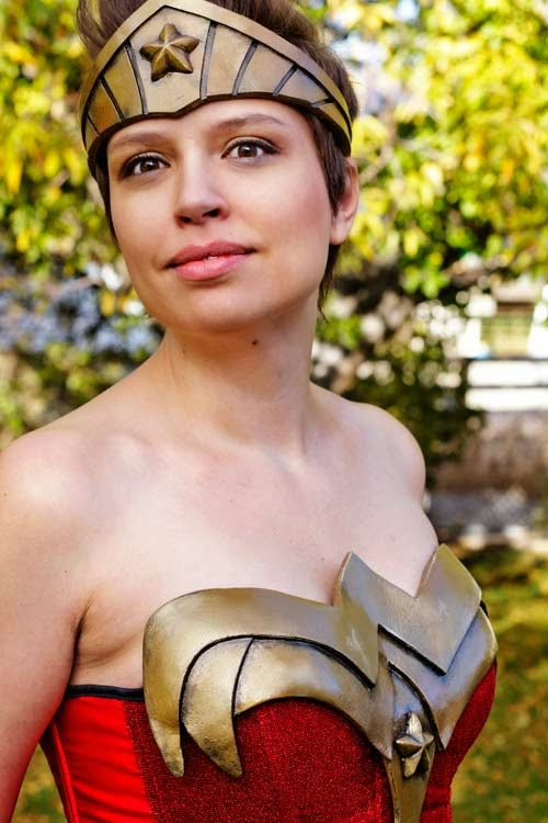 Wonder Woman Cosplay from Craftastical using Wonderflex