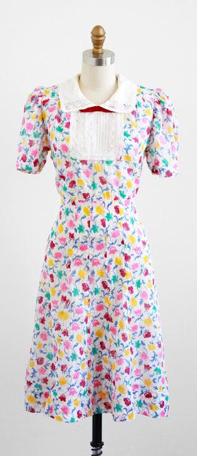 1930s Day Dress