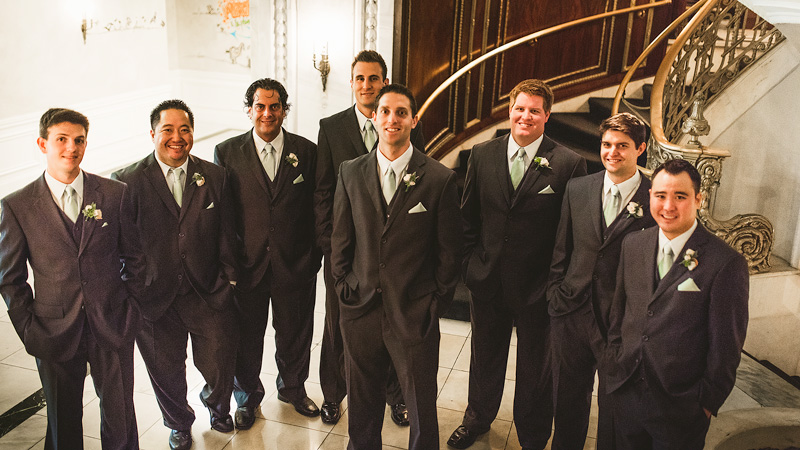 Groomsmen Chicago Hotel