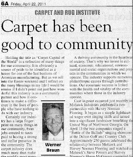 Carpet: Good to Community by Werner Braun