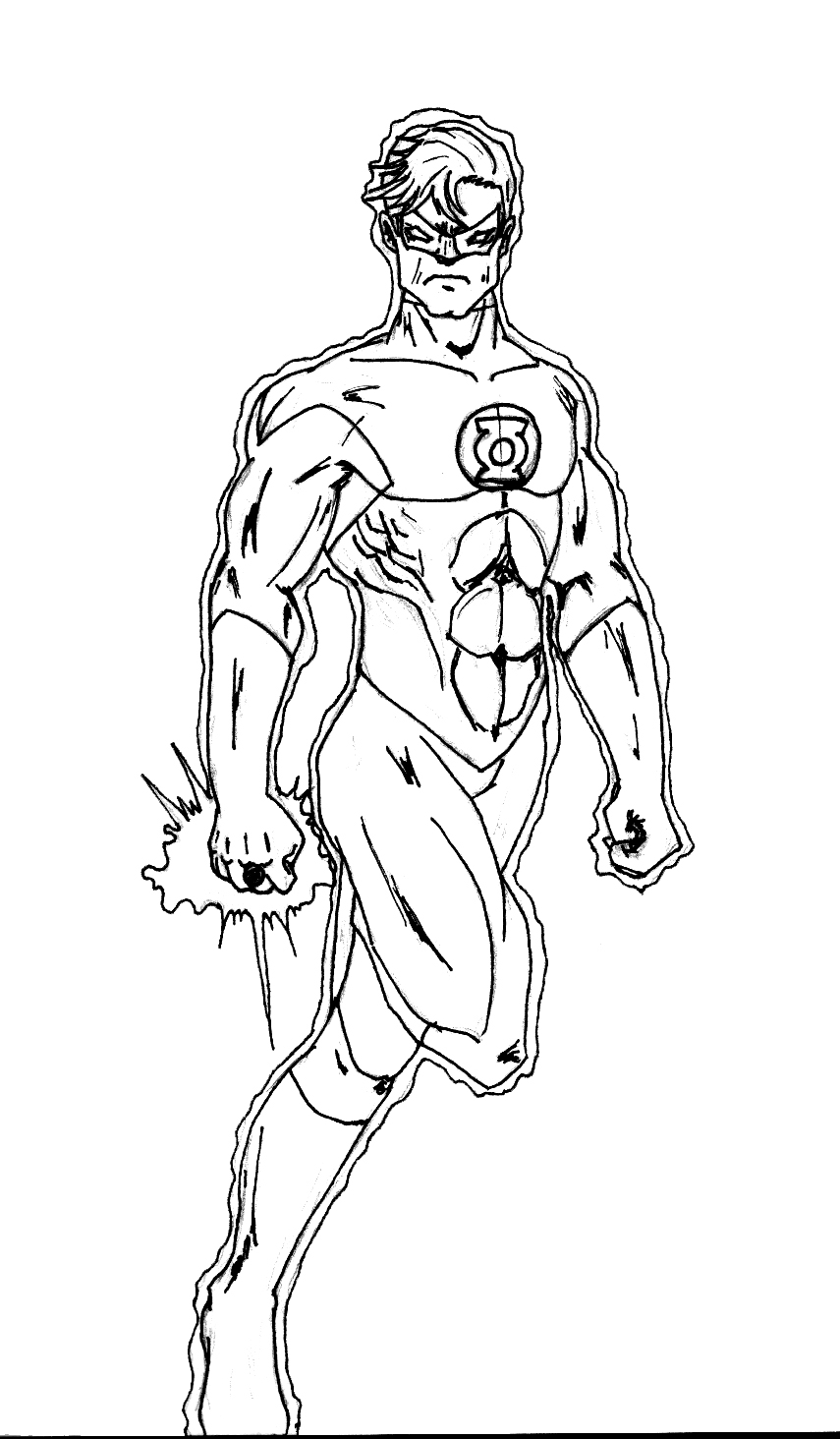 Green lantern symbol coloring pages coloring pages for Green lantern printable coloring pages