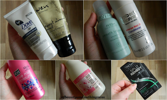 October Empties: Haircare!