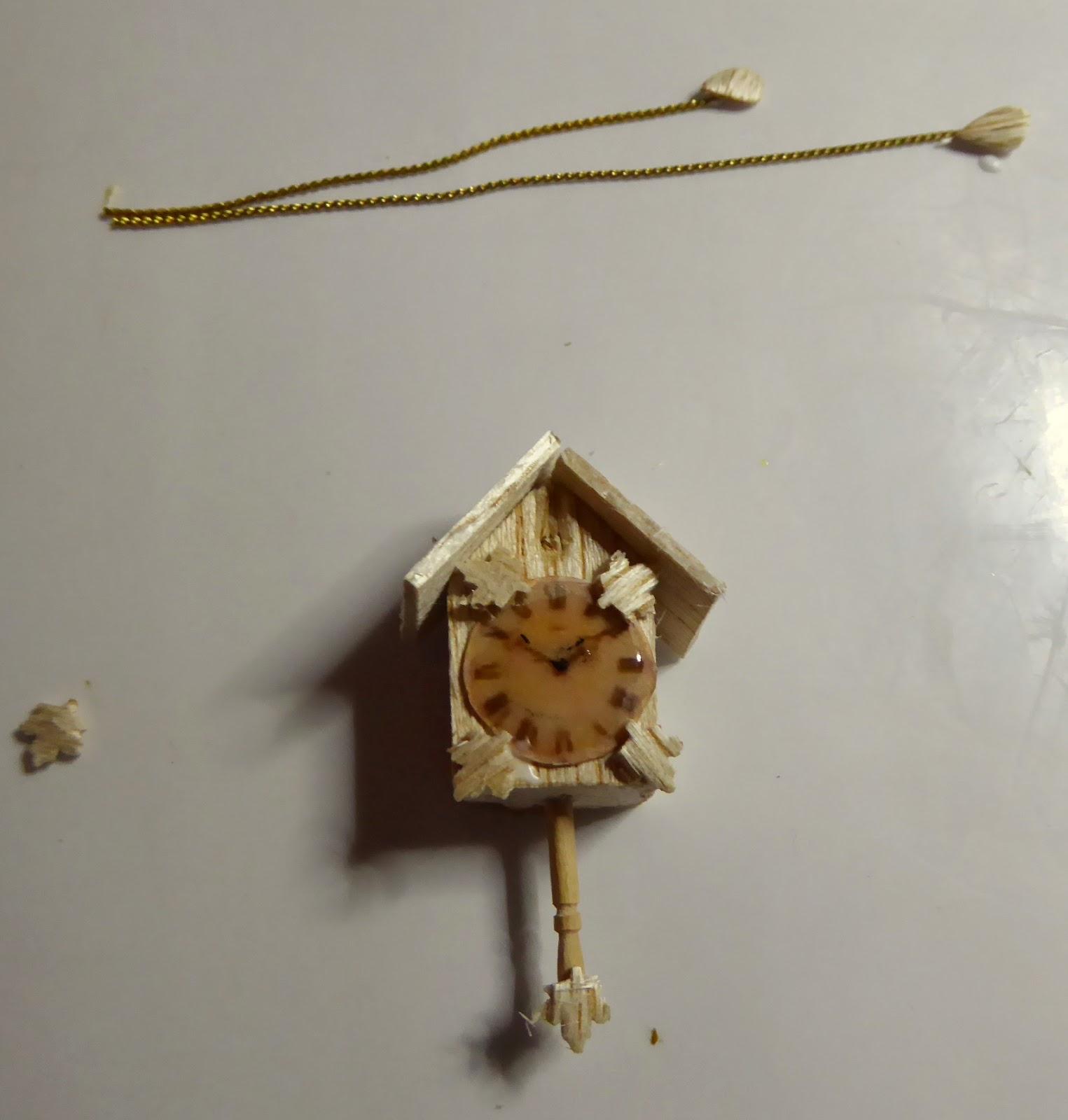Minimontse reloj de cuco - Reloj pegado pared ...