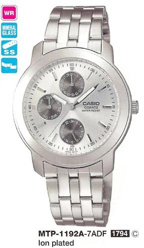 Часы Casio MTP-1192E-7A MTP-1192E-7AEF купить