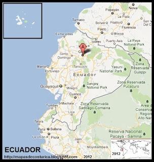 Mapa de ECUADOR, Google Maps