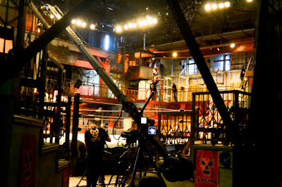 Lucha Underground production set