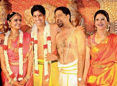 Cricketer Anirudha Srinkanth marriage Photo