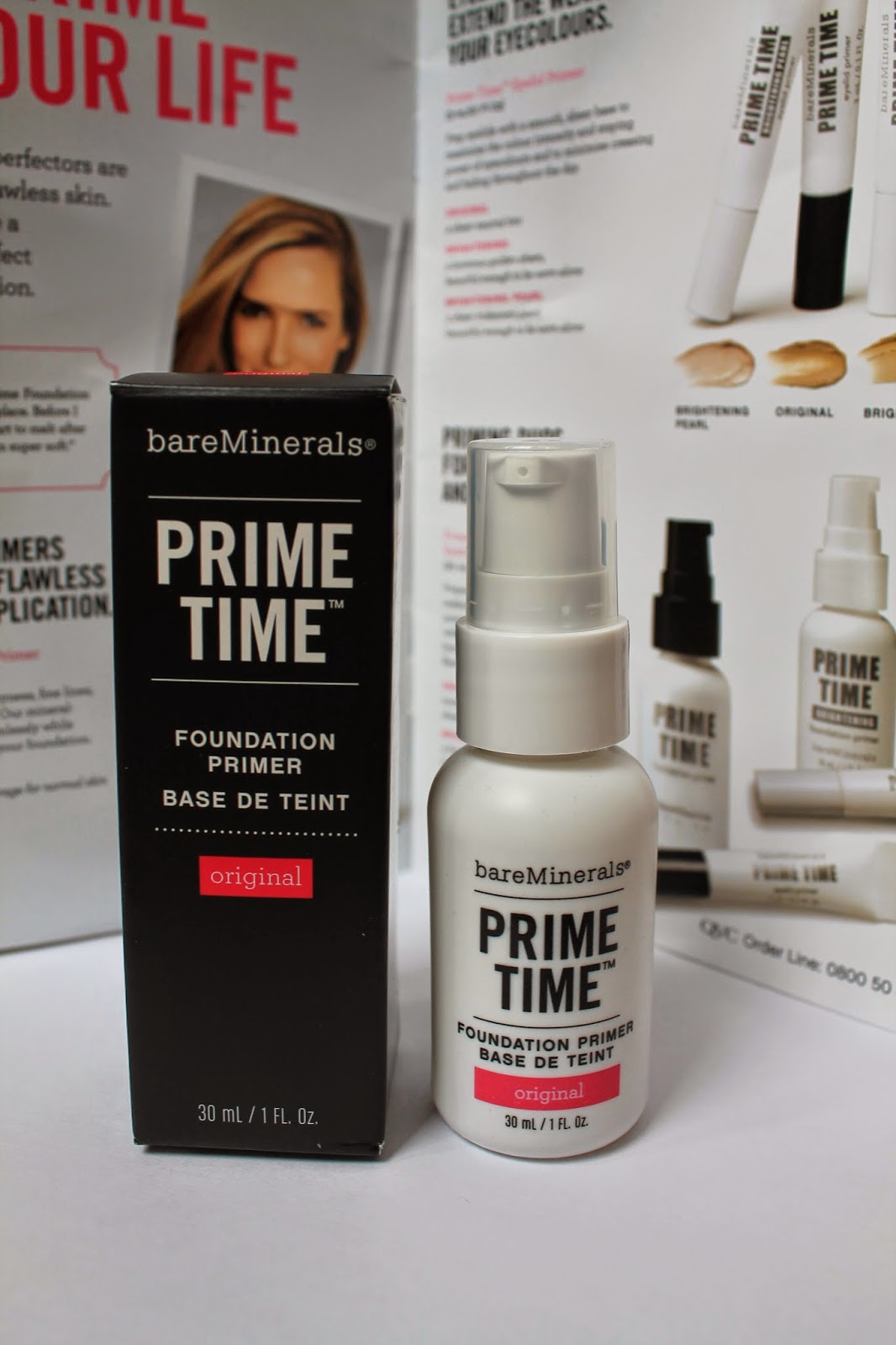 bareMinerals Prime Time review