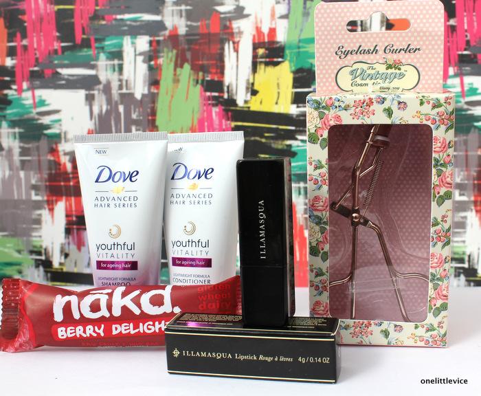 One Little Vice Beauty Box: YouBeauty Box Illamasqua Lipstick for £6