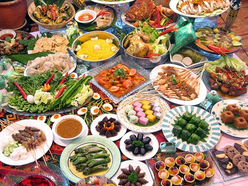 Foto Hidangan Menu Buka Puasa Ramadhan Diet Sehat Bugar dan Prima