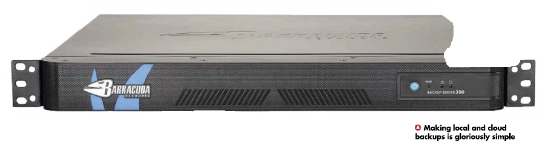 Barracuda Backup Server 390 Top Review