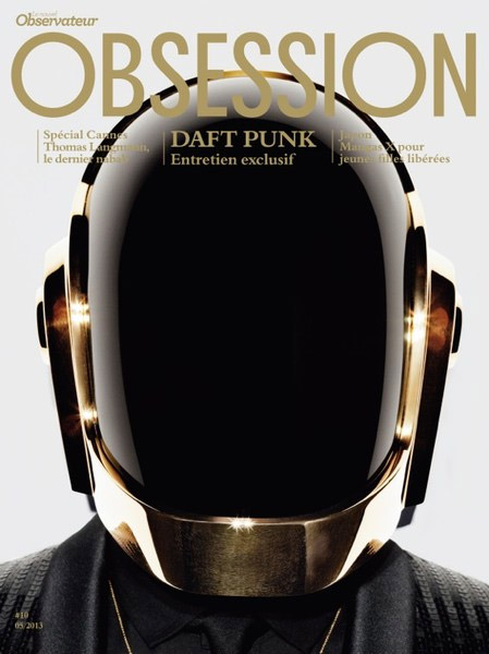 Daft Punk Obsession Magazine Cover 2013-2