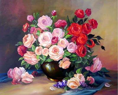 imagenes-flores-oleo