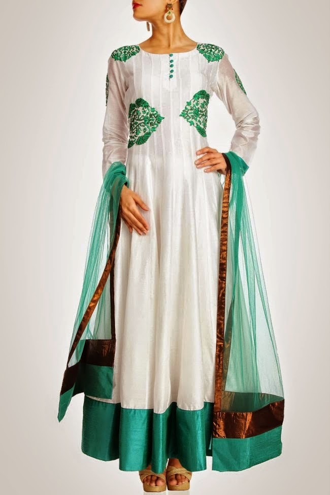 New Mehndi Dresses 2014 2015