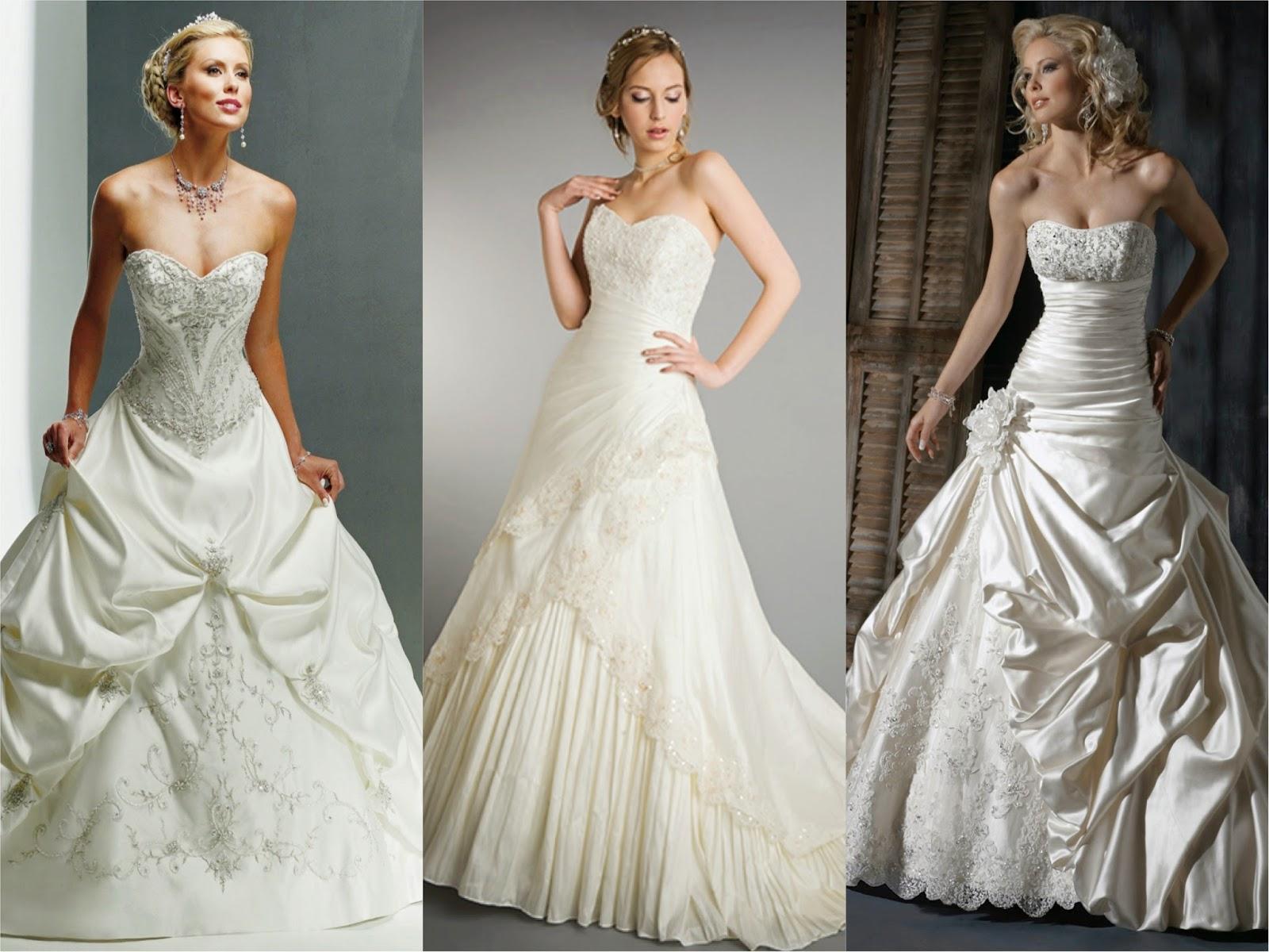 Vestidos de Noivas estilo princesa