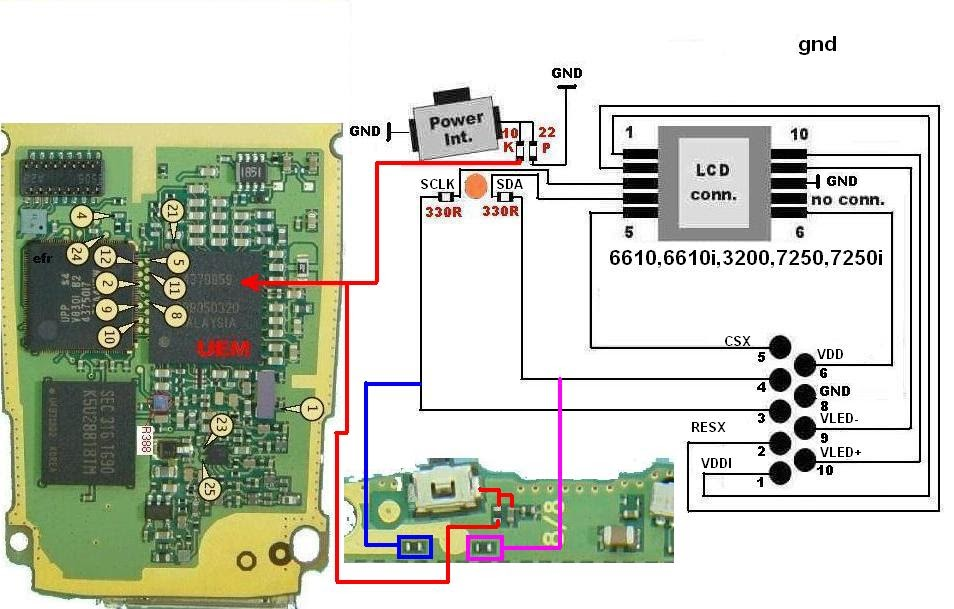 Nokia 6610 Power Button Ways Repair Guide