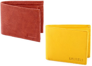 Amazon : Buy Branded Man's Laurels Urban Wallet upto 76% Off starting at Rs.218.