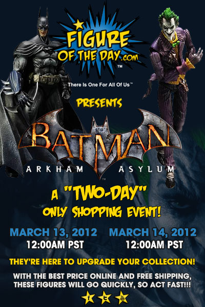 Figure of the Day's Batman: Arkham Asylum 2 Day Event
