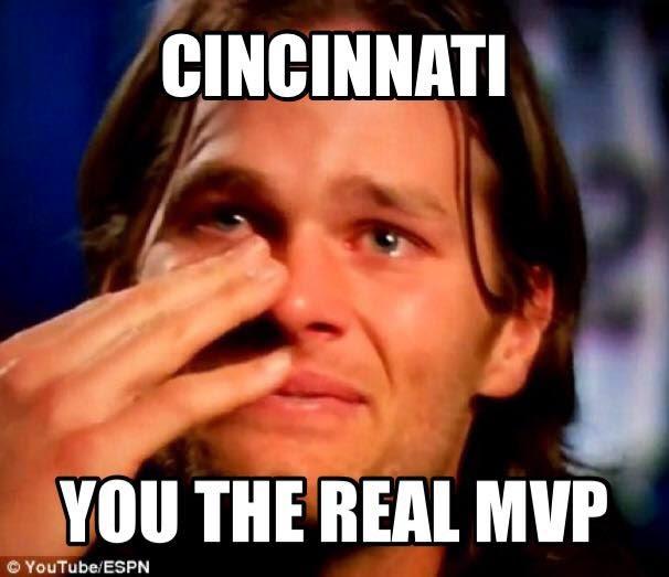 Cincinnati you the real mvp