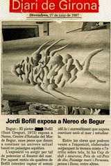 1997- FUNDACIÓN NEREO EXHIBITION- CASA CARMEN AMAYA. BEGUR.GIRONA.