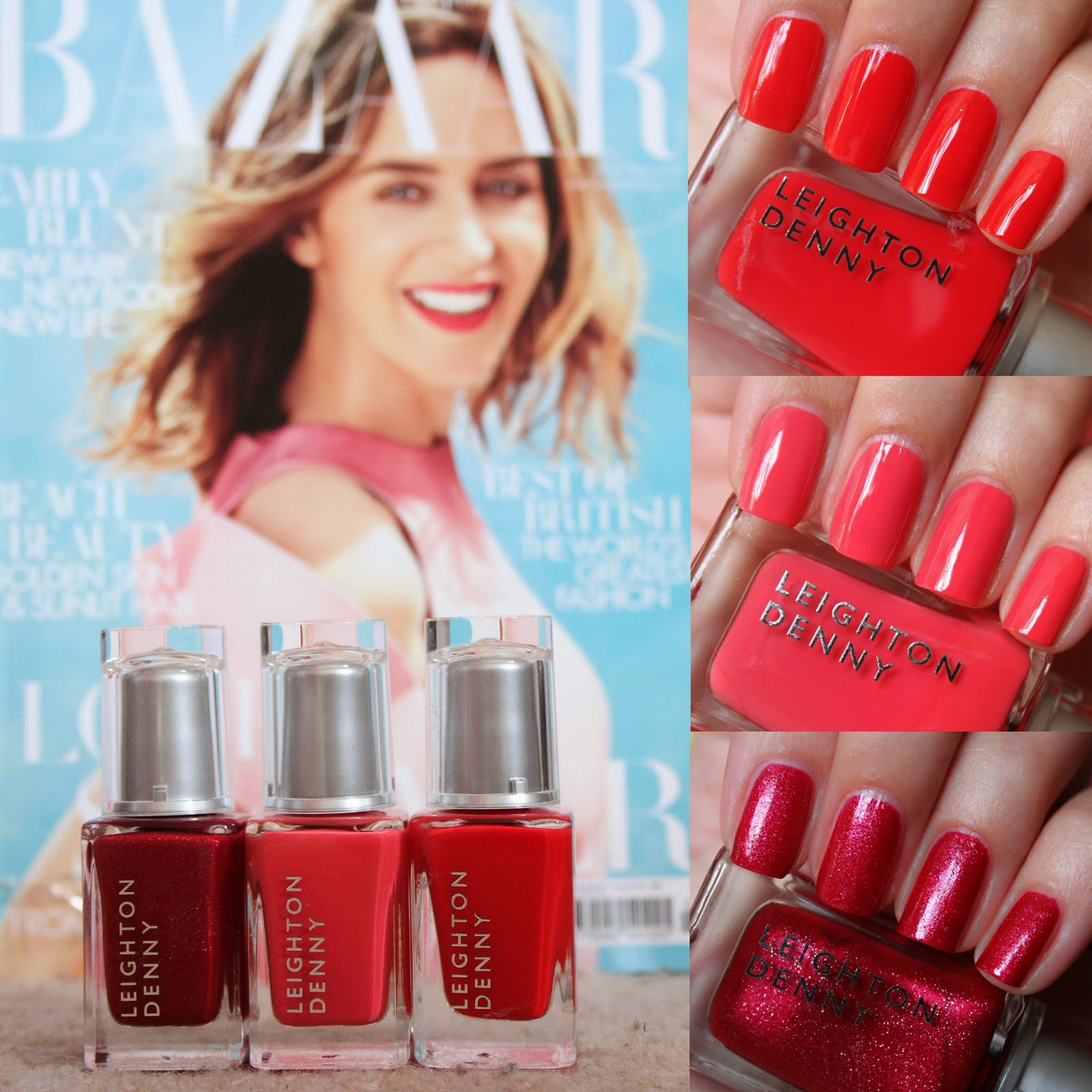 Elaine Nails: Free Leighton Denny Harpers Bazaar Part 2