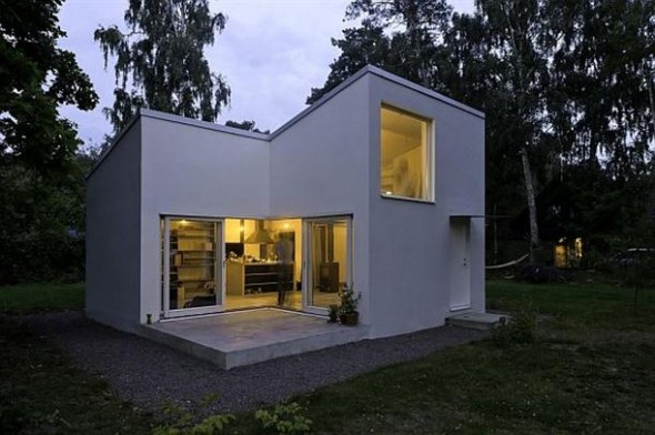 swedish homes designs front views.