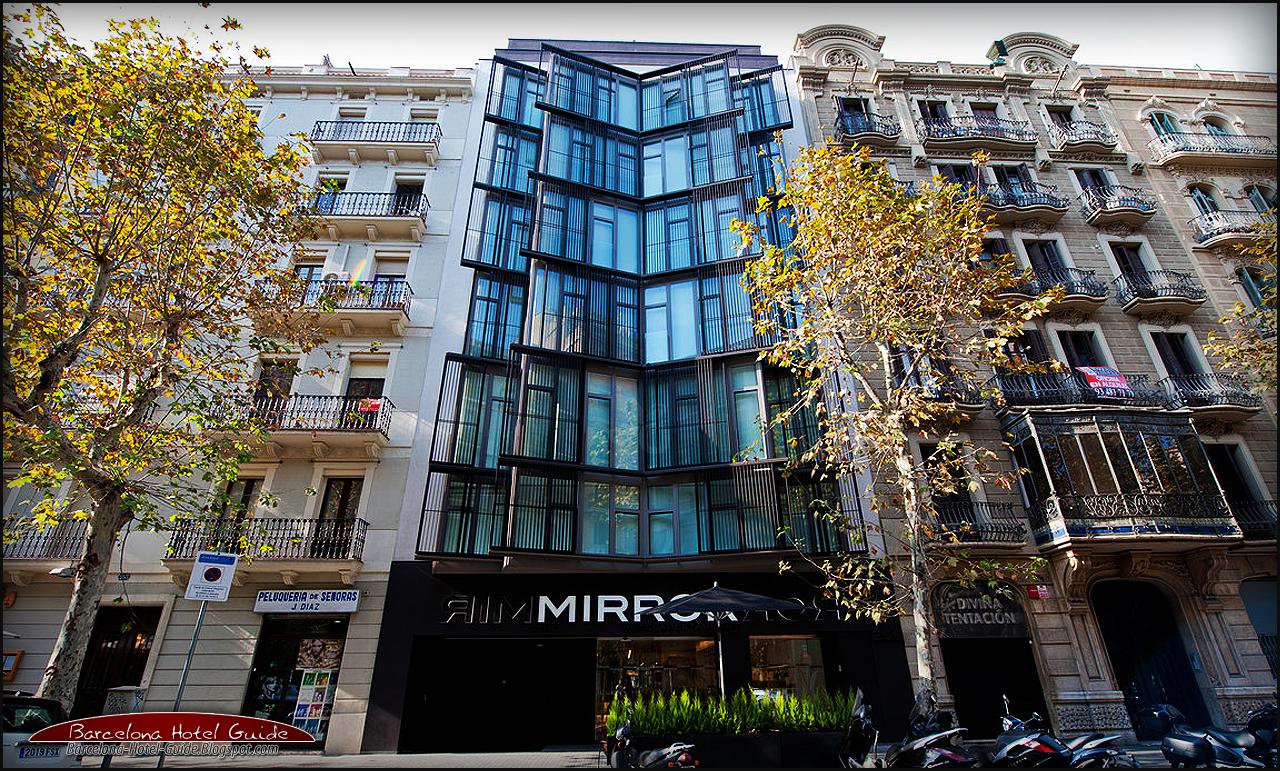 Barcelona travel guide the mirror barcelona for Mirror hotel