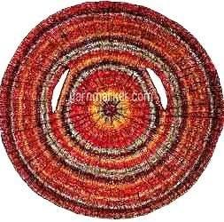 kamizelka na okraglych drutach