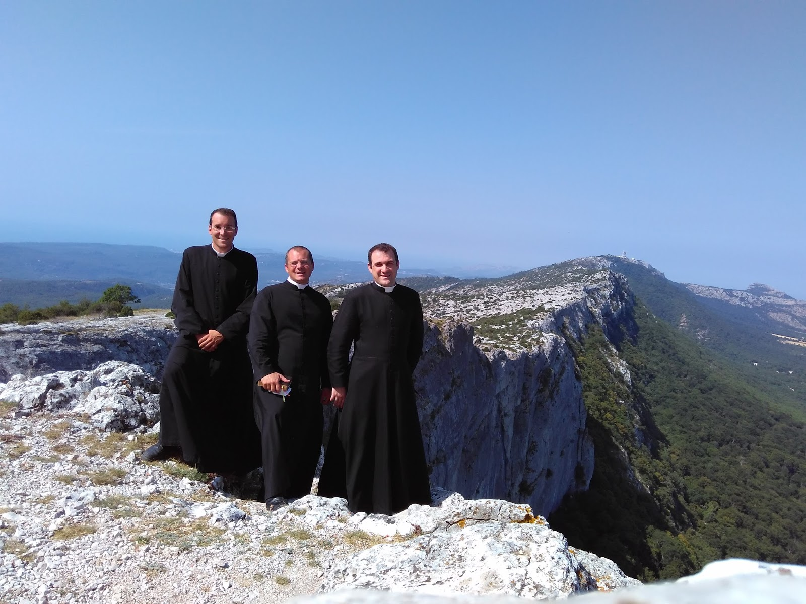 Pèlerinage des prêtres de la Communauté Saint Grégoire le Grand  à la Sainte-Baume