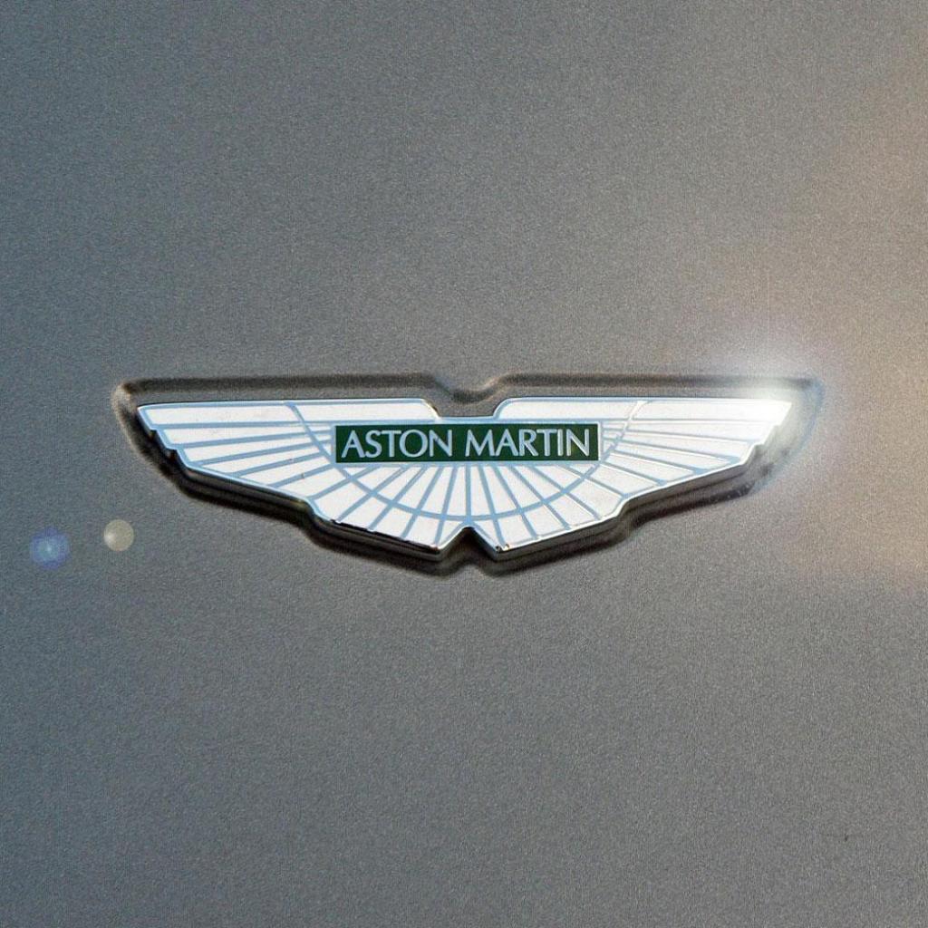 Yellow Color Wallpaper Aston Martin Logo