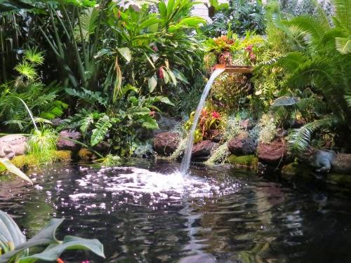 Philadelphia Flower Show 2015- fountains Tarzan
